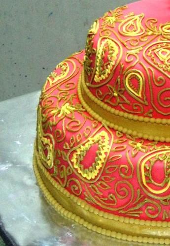 Wedding Cake Design School : Indian wedding Cake design Order cakes at ease, log on ...