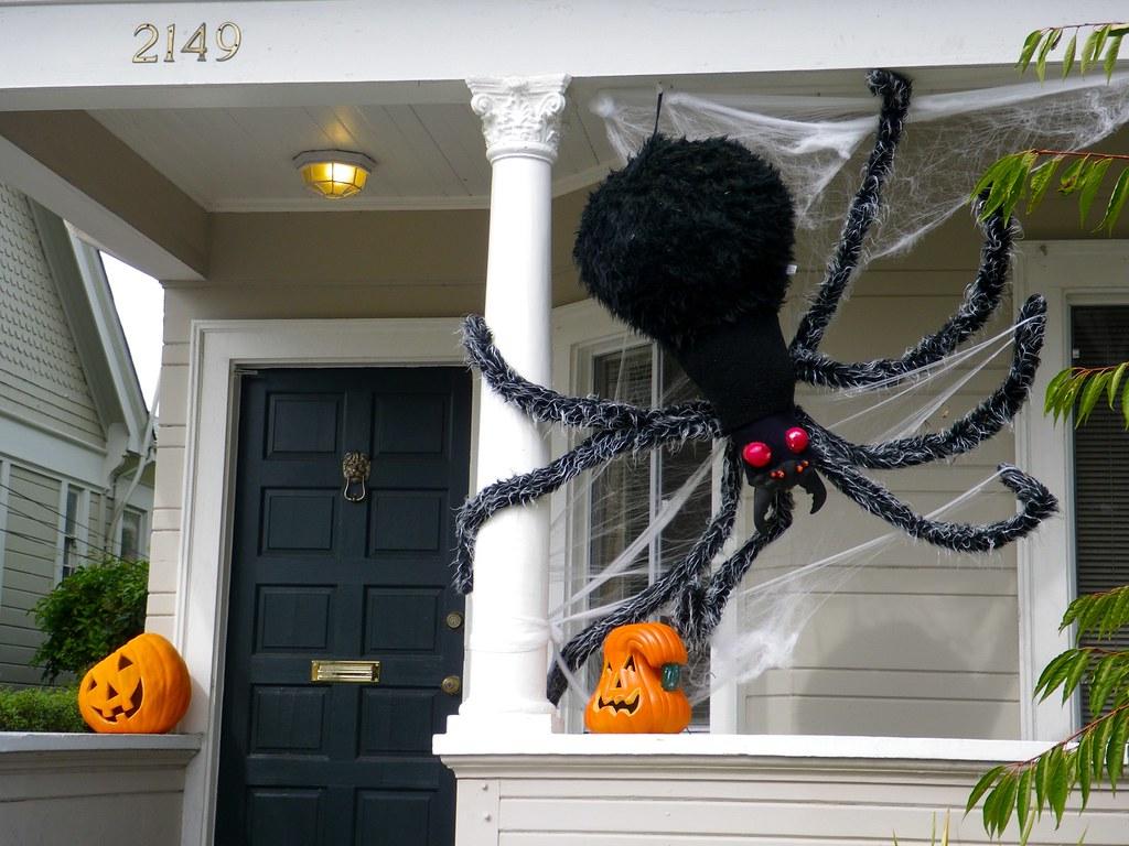 Porch Spider Halloween Home Decorations Punktoad Flickr