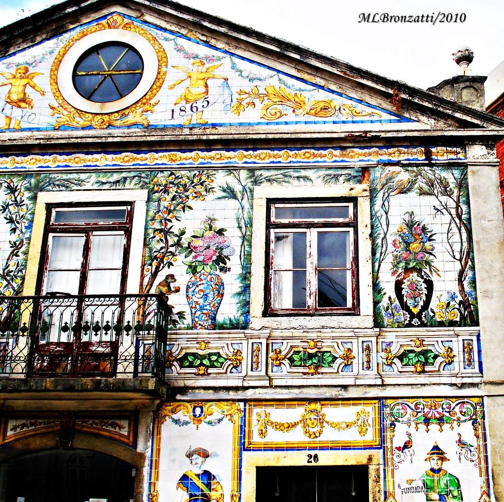 lisboa e seus lindos azulejos edif cio da f brica de cer On fabrica de azulejos