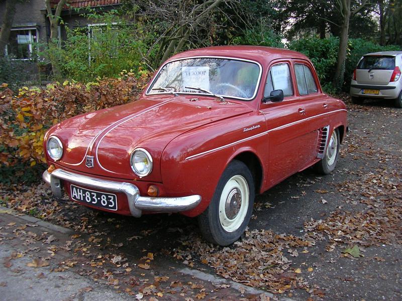 Renault dauphine twello te koop voor 2750 willem alink flickr - Te koop ...