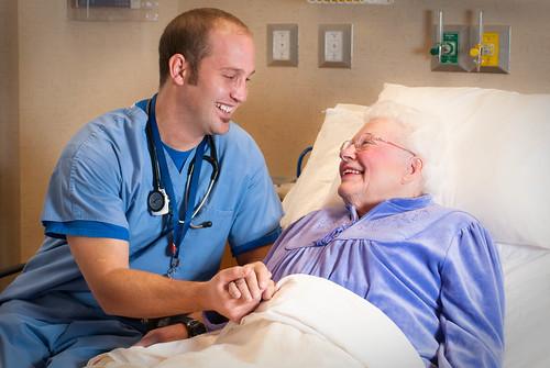 Hospital Bed Patient Images