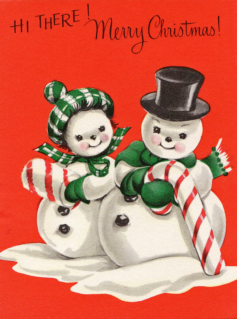 Snow Christmas Cards