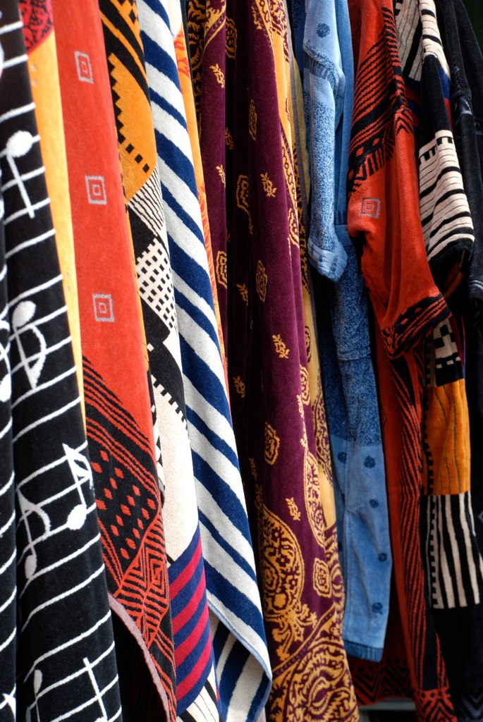 colourful dressing gowns in Covent garden Covered Market! | Flickr