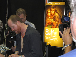 Joss Whedon signing | by buffyfest