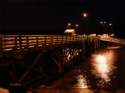 Chandler's Dock at Night | by darylann