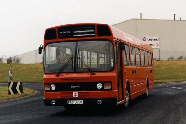 Leyland National 2 Cumberland Motor Services From When