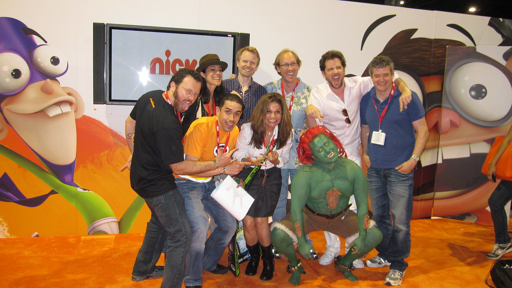 Team Fanboy at Comic-Con 2010 | Fanboy and Chum Chum's ...