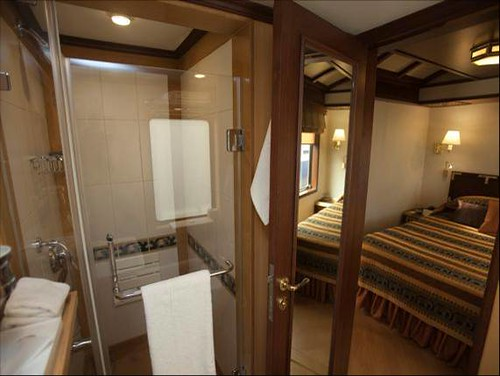 Indian Luxury Train Bedroom With Bathroom The