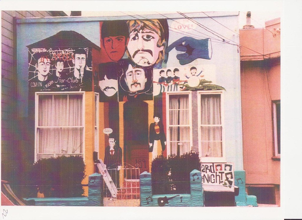 The Beatles House 1982 This Is The Second Version Of