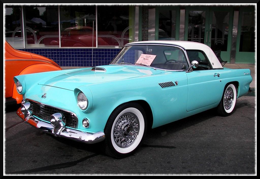 Blue  U0026 39 55 Thunderbird