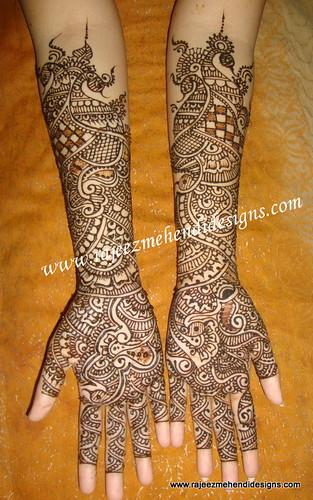 Bridal Mehndi In Chennai : Sujatha s bridal henna hands mehendi designer in
