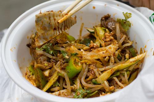 01 Spicy & Tingly Lamb Face Salad - Xi'an Famous Foods ...