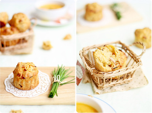 Bacon Cheddar & Chive Muffins | *bossacafez | Flickr