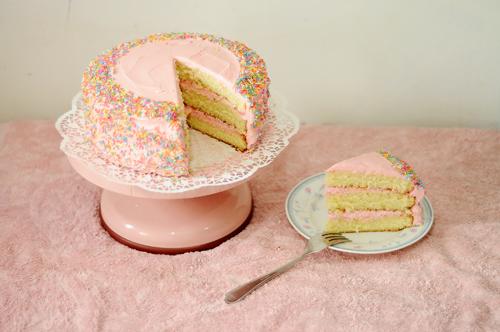 Pink Birthday Cake By Sugarcrawler Pink Birthday Cake By Sugarcrawler