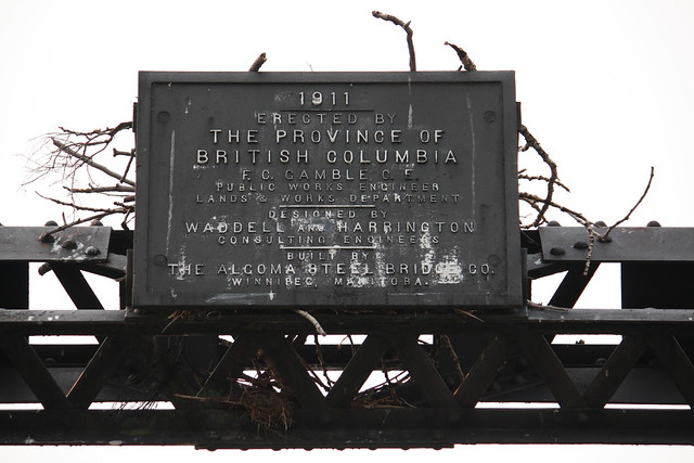 Walhachin Thompson River Bridge Builders Plaque Flickr