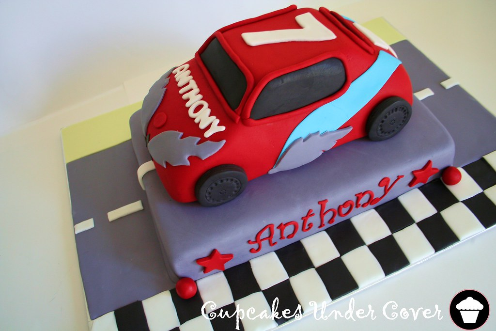 Birthday Car Cake Recipe