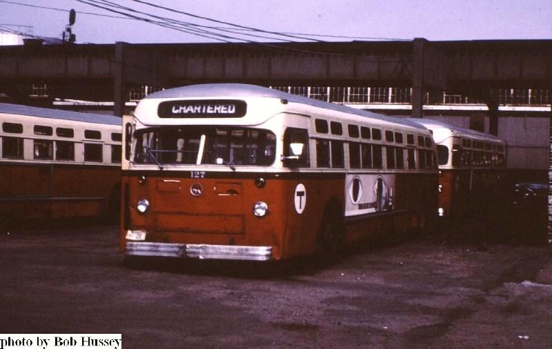 Mbta Mack Bus 127 At The Arborway Yard Bob Hussey Photo