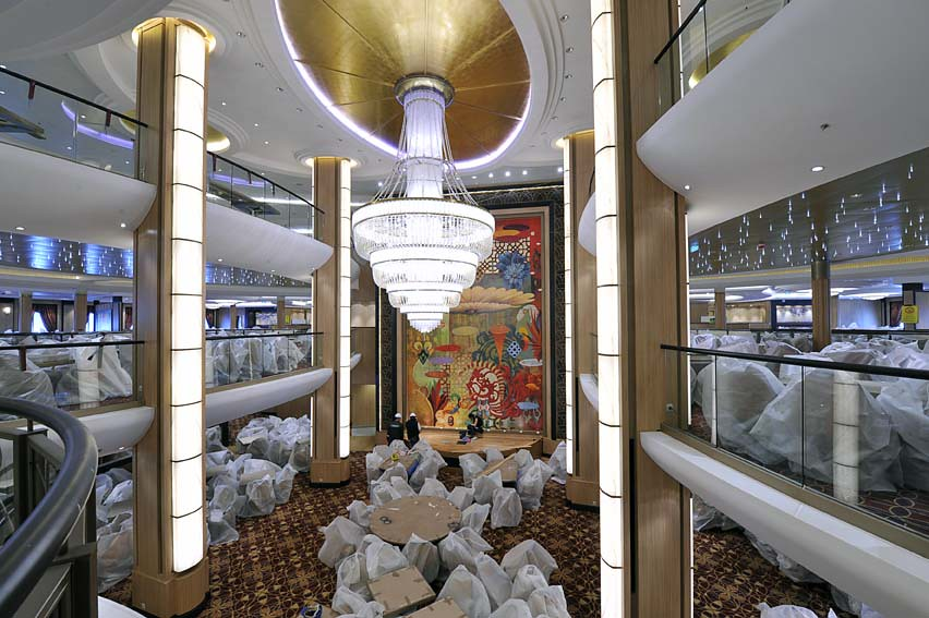 Main Dining Room On Allure Of The Seas