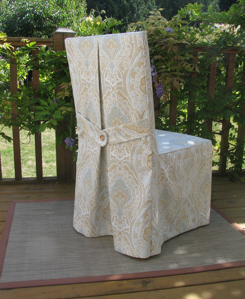 Parsons Chair Slipcover | By NikkiDesigns Parsons Chair Slipcover | By  NikkiDesigns