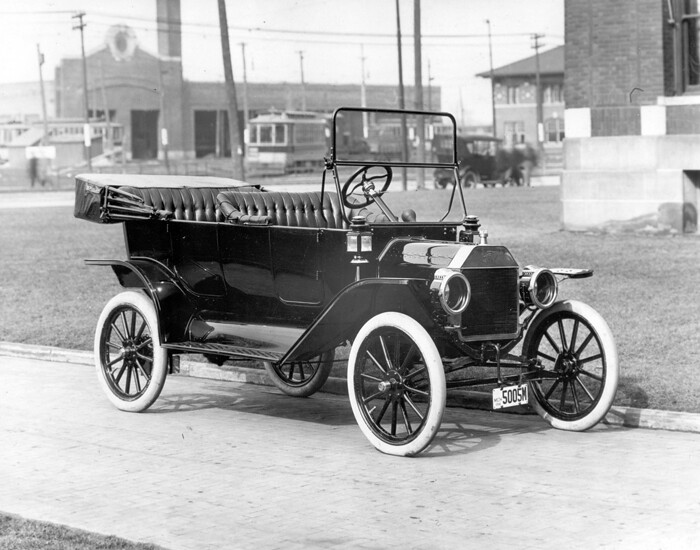 Car Manufacturers Early 1900s Mail: 1914 Model T Touring Car