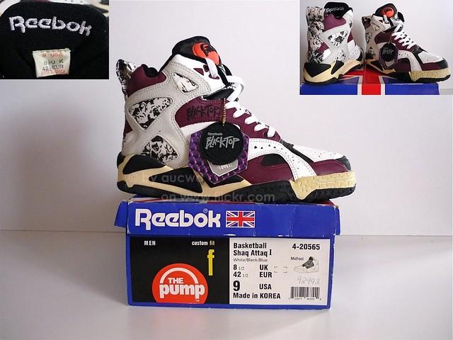 vintage reebok pump shoes