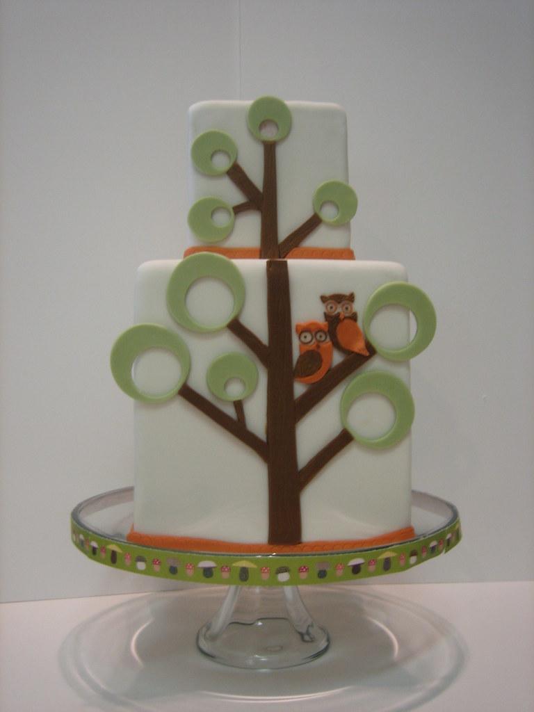 White Cake Woodland Bakery