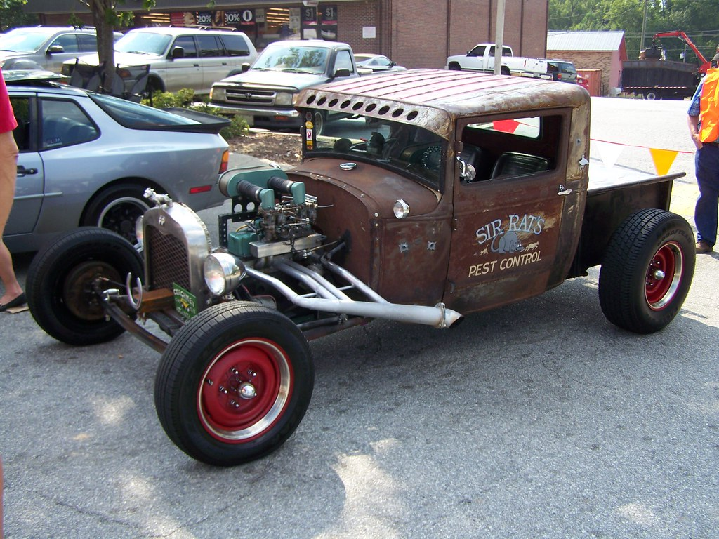 FORD RAT ROD Car Show In Downtown Greensboro Ga Pete - Car show greensboro