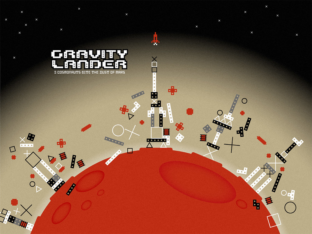 Gravity lander wallpaper 1 buro destruct flickr for Buro destruct