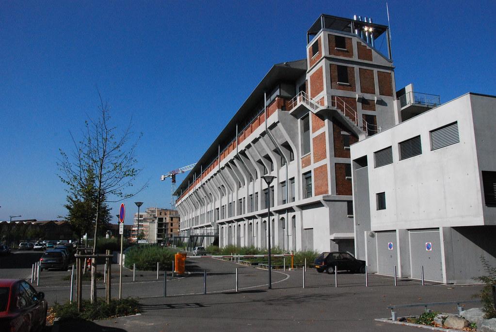 La Fonderie de la Société Alsacienne de Construction Mécanique, Mulhouse FRANCE