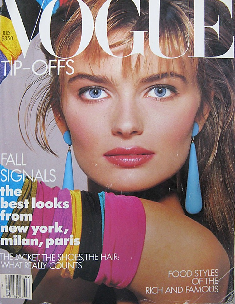 Vogue July 1987 Vogue Fashion Magazine July 1987