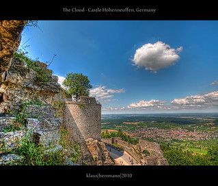 The Cloud - Castle Hohenneuffen, Germany (HDR) | by farbspiel