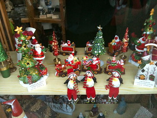 Window display at the Christmas Shop Lechlade | by Tip Tours