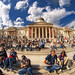 Trafalgar Square and National Gallery.  london