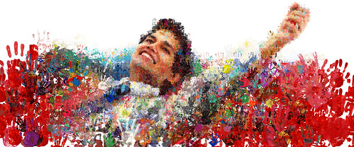 LIFEBUOY campaign in Dubai, UAE: One of the biggest mosaic pictures in the world. | by tsevis