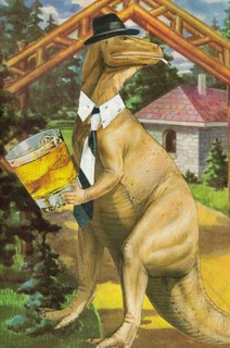 Original Collage Mad Men Dinosaur | by dadadreams (Michelle Lanter)