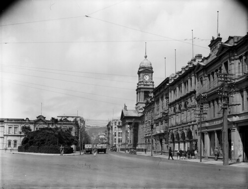 Cuba Street, Wellington, [1923-1934] | by National Library NZ on The Commons