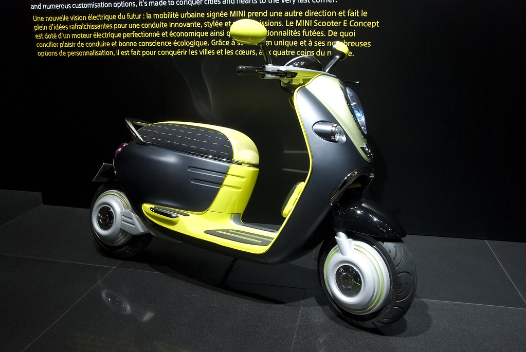 Mini Scooter E Concept 2010 Paris Motor Show Flickr