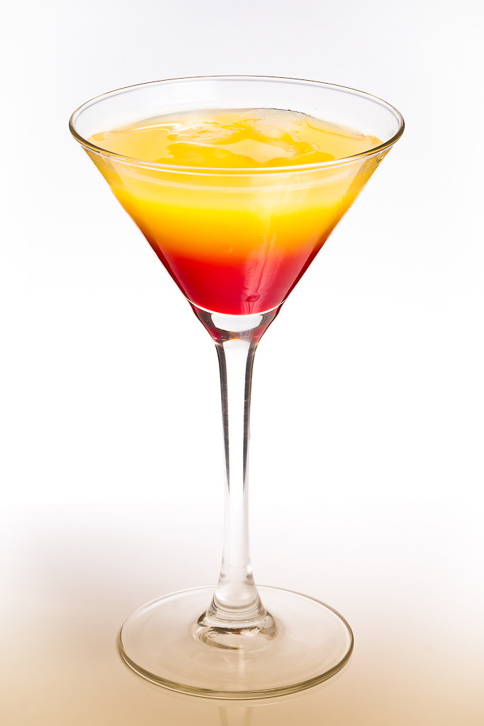 Tequila sunrise | An exercise in mixed coctails, the ...