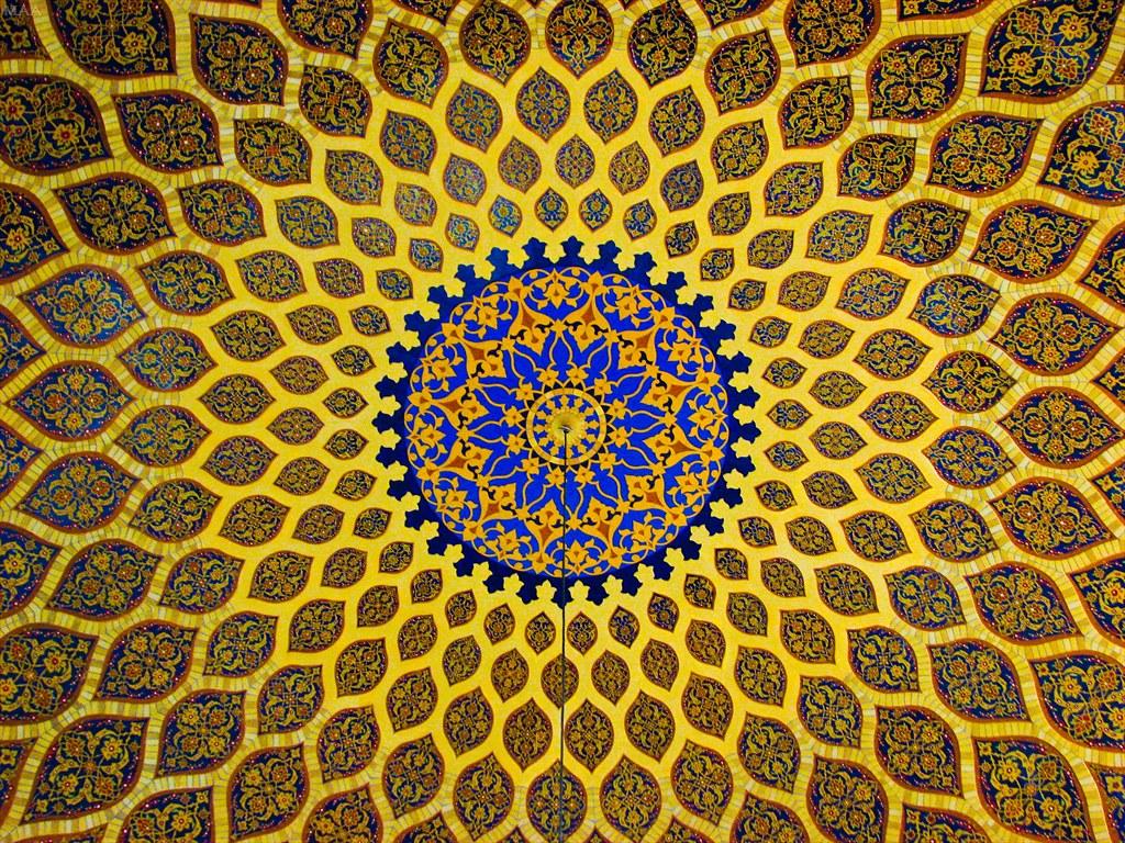 Islamic Design Picture Of A Dome At The Ibn Battuta Mall