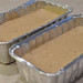 Pour Banana Bread Batter into Greased Loaf Pans