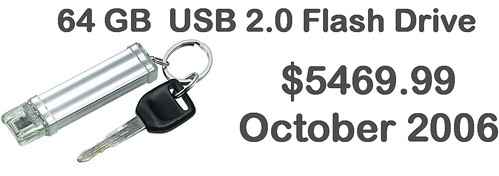 64GB USB for sale in 2006 for $5469 | by libraryman