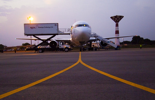Aircraft on runway | by World Bank Photo Collection