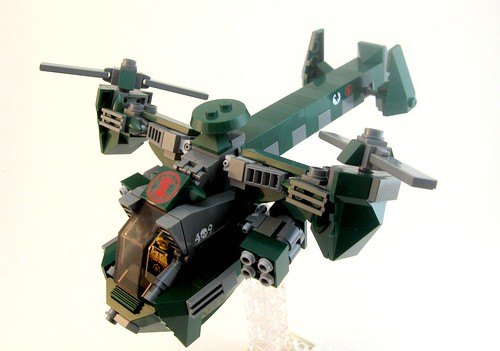Dragonfly Gunship | by Aaron (-_-)