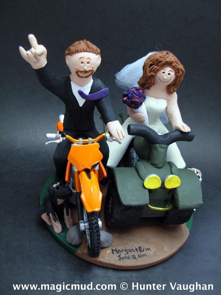 ATV and Dirt Bike Wedding Cake Topper 3 | ATV and Dirt Bike … | Flickr