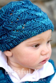 Lacy Julian Hat | by blissfulknits