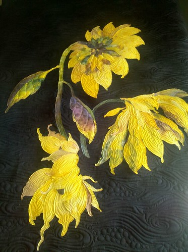 Sunflower | Quilted by Jessica's Quilting Studio | Jessica ...