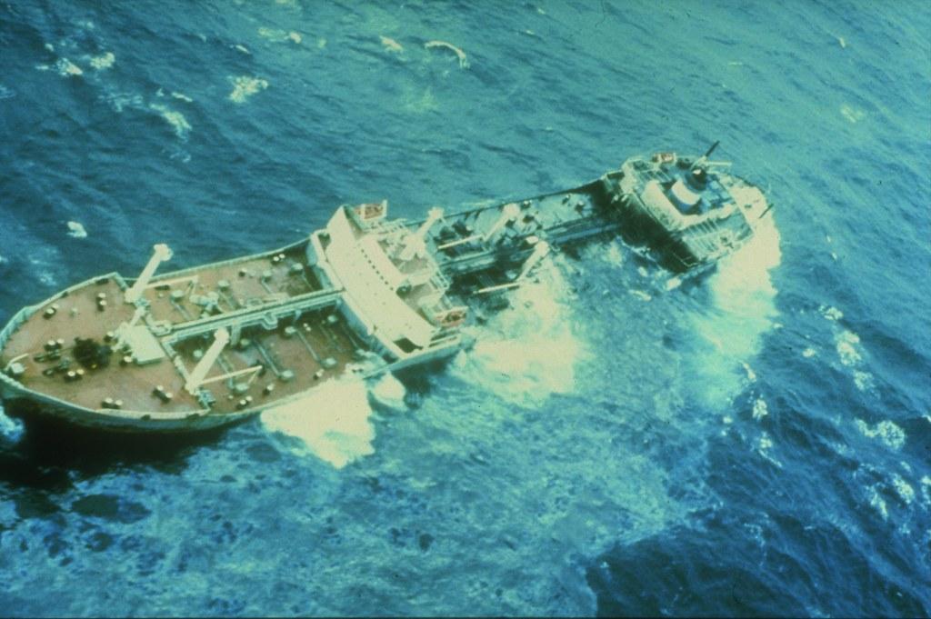 Line5125 Argo Merchant Oil Spill The Ship Broke Apart