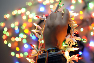 Bokeh/light/christmas shoot | by barrybassboy