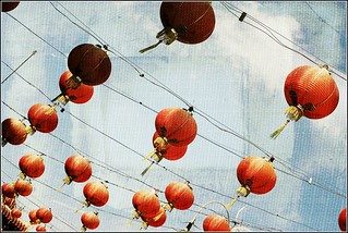 red lanterns | by *tracie west*