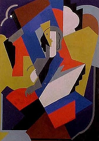 gleizes albert 18811953 1921c cubist woman private